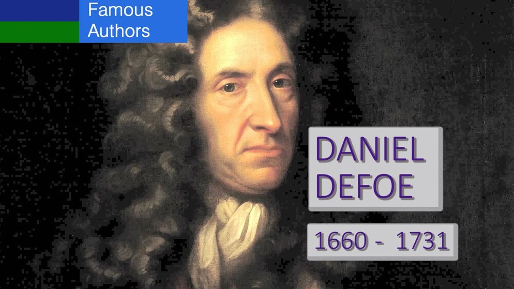 L7876 - Famous Authors:  The Life and Work of Daniel Defoe