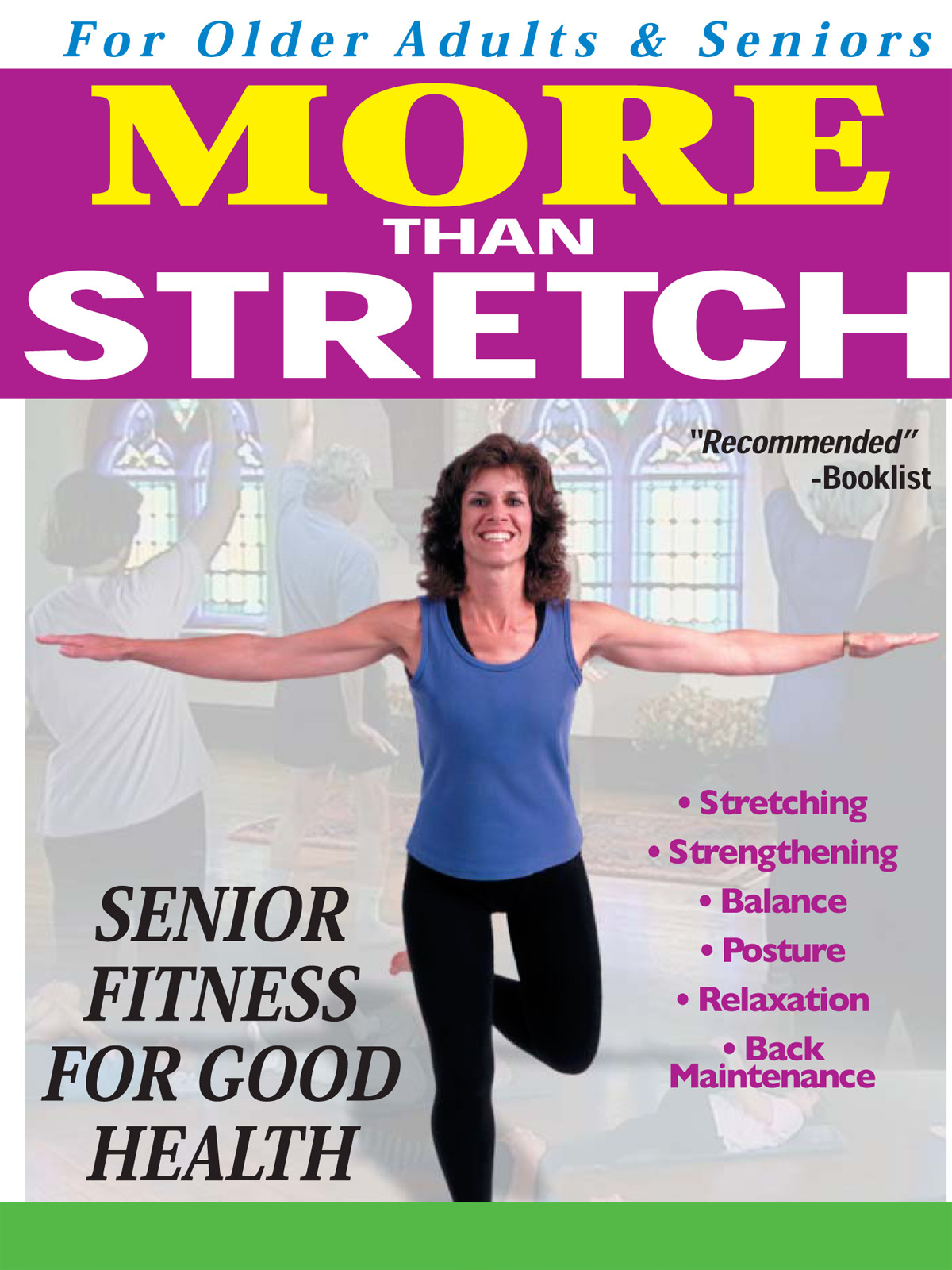 A7002 - More Than Stretch Senior Fitness for Good Health