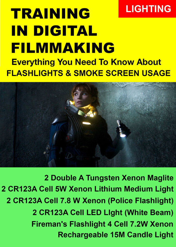 F3014 - Everything you Need to Know About Lighting on a Set - Flashlights and Smoke Screen Usage on a Set