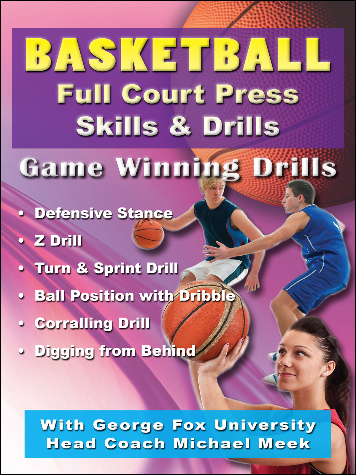 K4206 - Basketball Full Court Press Skills and Drills