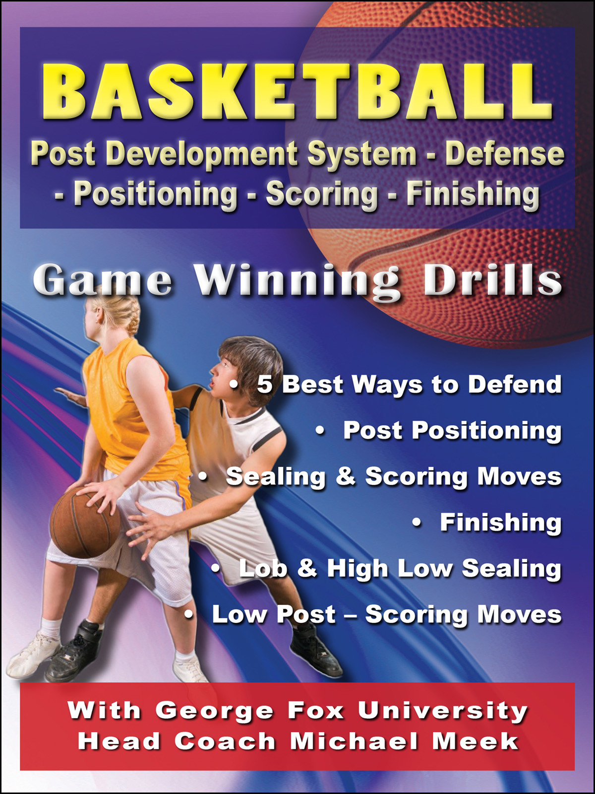 K4208 - Basketball Post Development System ? Defense-Positioning-Scoring-Finishing