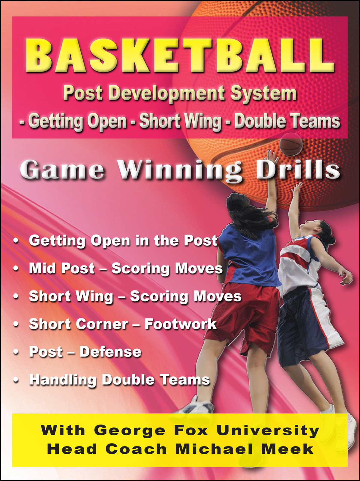K4209 - Basketball Post Development System  Getting Open-Short Wing-Double Teams