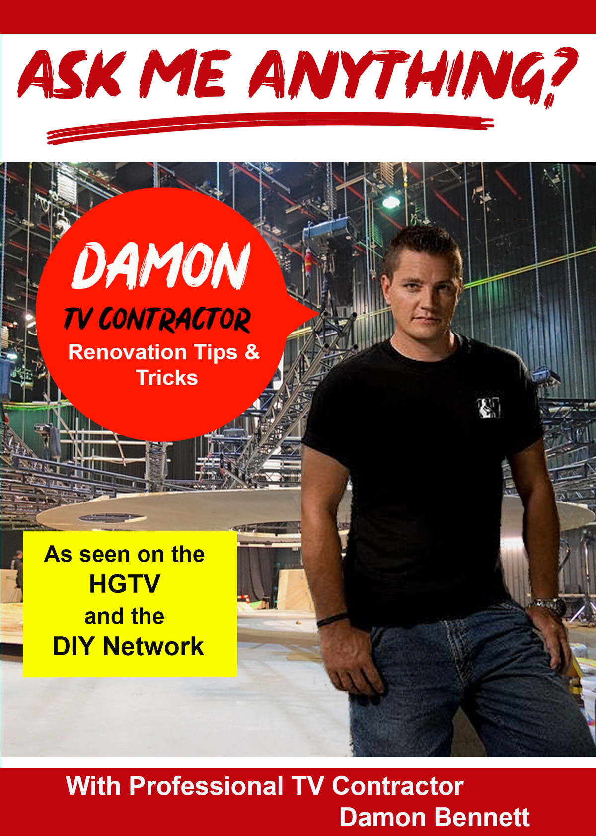 K4830 - Ask Me Anything about being a TV Contractor, Renovation Tips & Tricks with With Professional TV Contractor & Host Damon Bennett