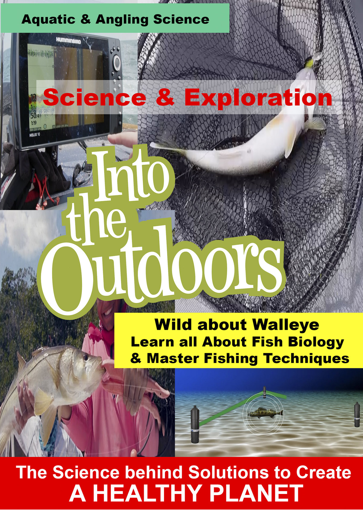 K5007 - Wild about Walleye - Learn all About Fish Biology, Master Fishing Techniques