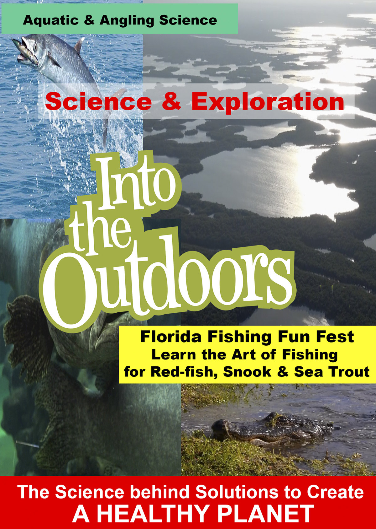 K5008 - Florida Fishing Fun Fest - Learn the Art of Fishing for Red-fish, Snook & Sea Trout