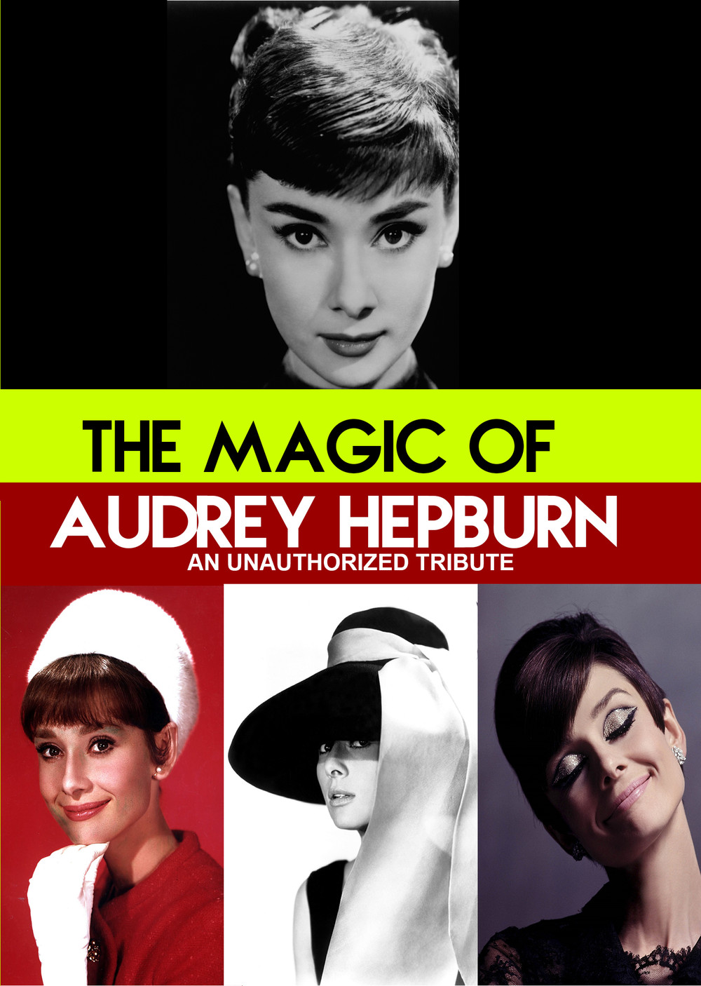 L7801 - The Magic of Audrey Hepburn - An Unauthorized  Story