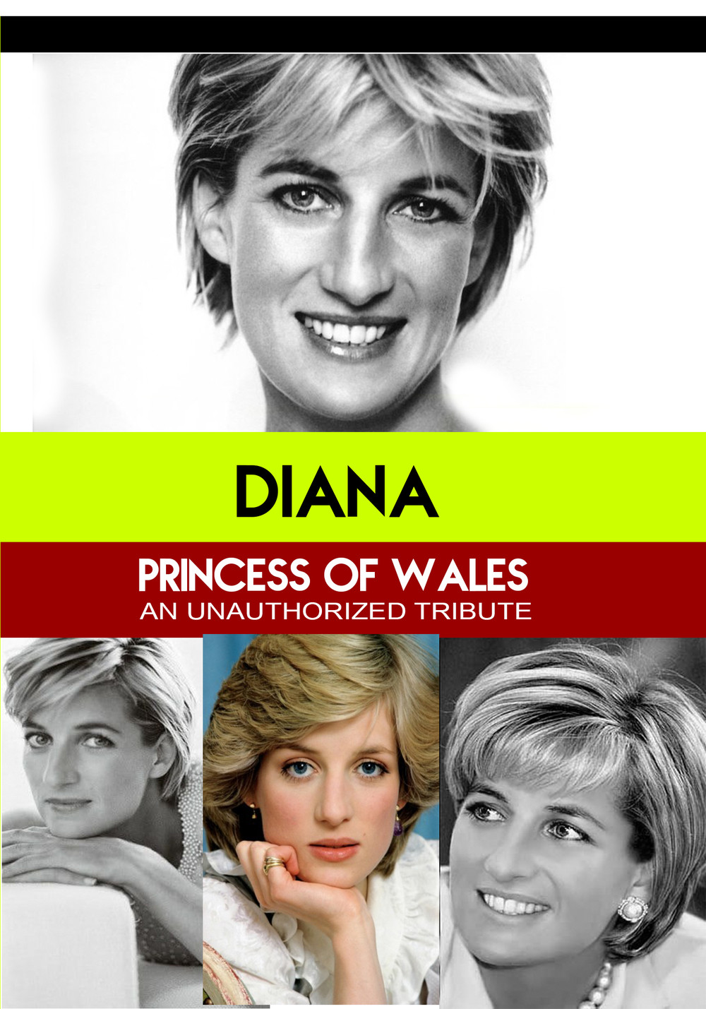 L7803 - Diana Princess of Wales - Everlasting An Unauthorized Tribute
