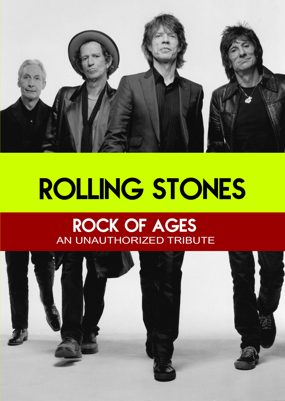 L7810 - The Rolling Stones Rock of Ages - An unauthorized Story