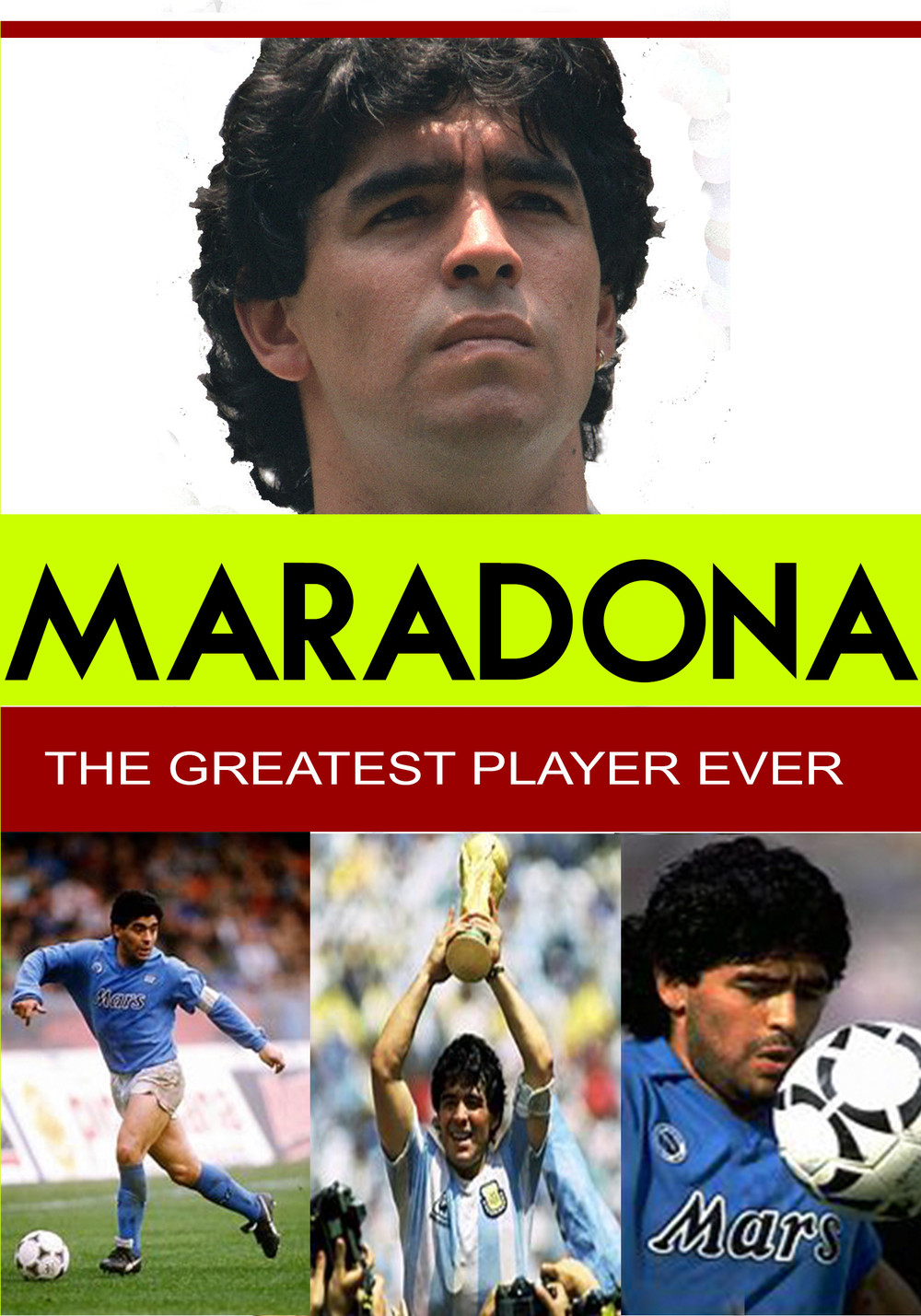 L7814 - Maradona - The Greatest Player Ever