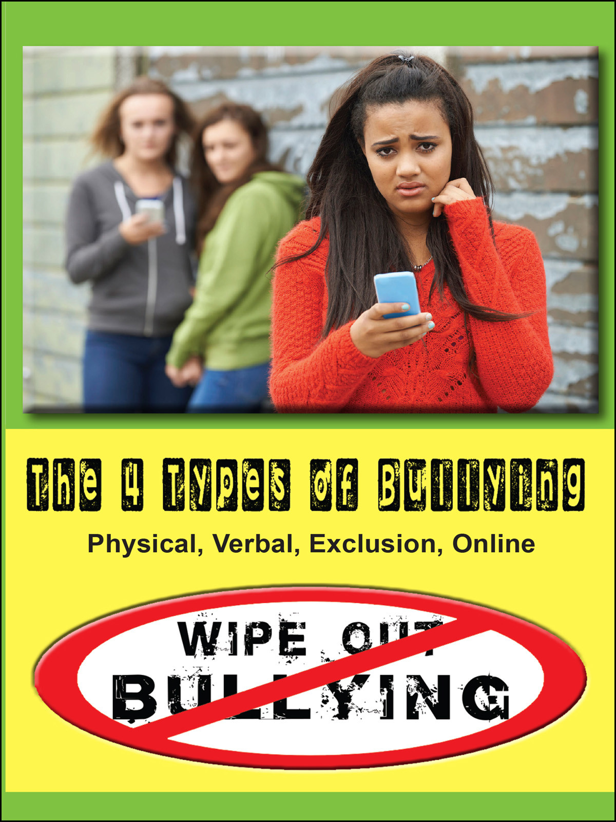 Q512 - The 4 Types of Bullying Physical, Verbal, Exclusion, Online