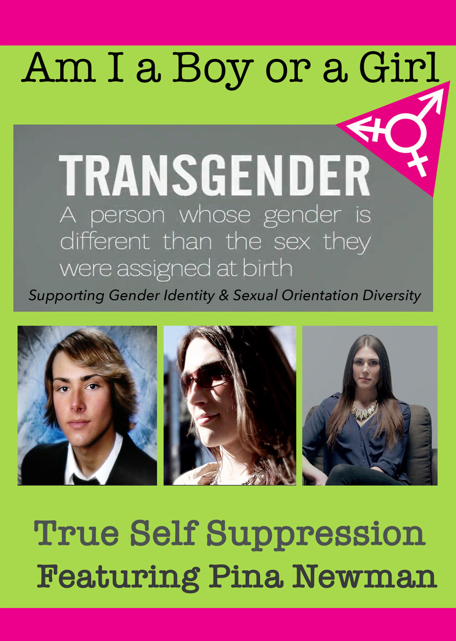 T8994 - Am I A Boy of Girl: True Self Suppression - Featuring Pina Newman