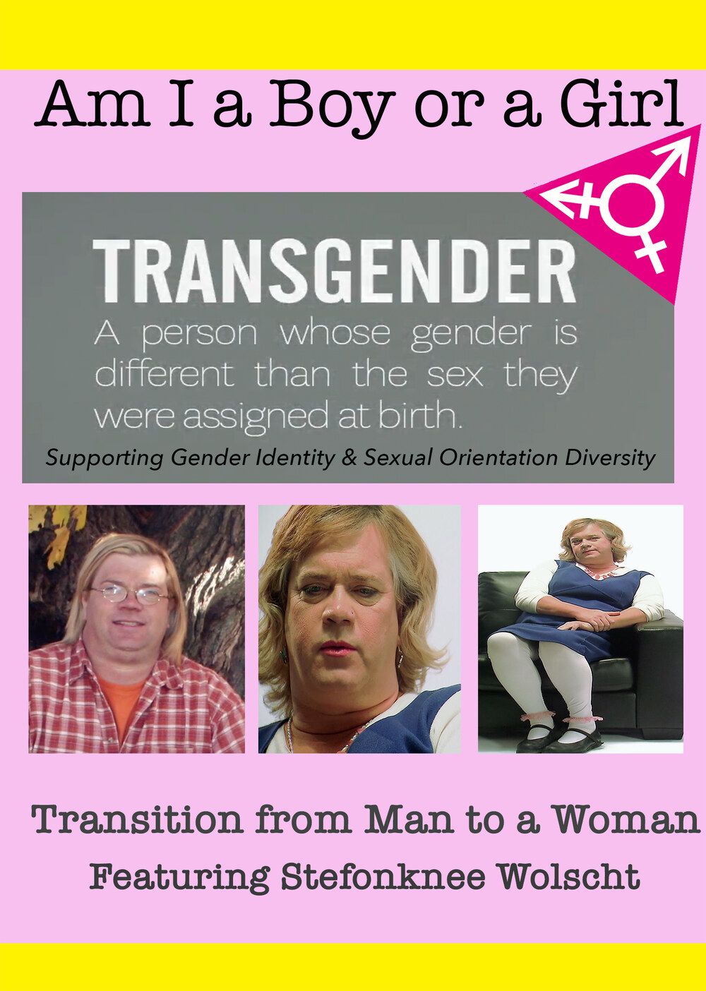 T8996 - Am I A Boy of Girl Featuring Stefonknee Wolscht - Transition from Man to a Woman