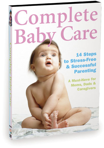 A7026 - Complete Baby Care Reassuring Step-By-Step Instruction For New Parents