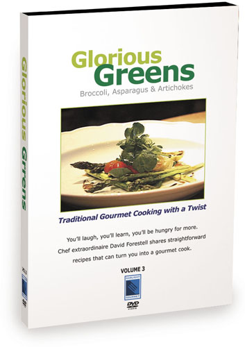 E4553 - Cooking Glorious Greens Broccoli, Asparagus and Artichokes