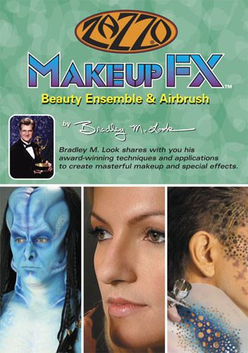 F2675 - Makeup FX Film & Television Makeup Featuring Beauty Ensemble & Airbrush Techniques