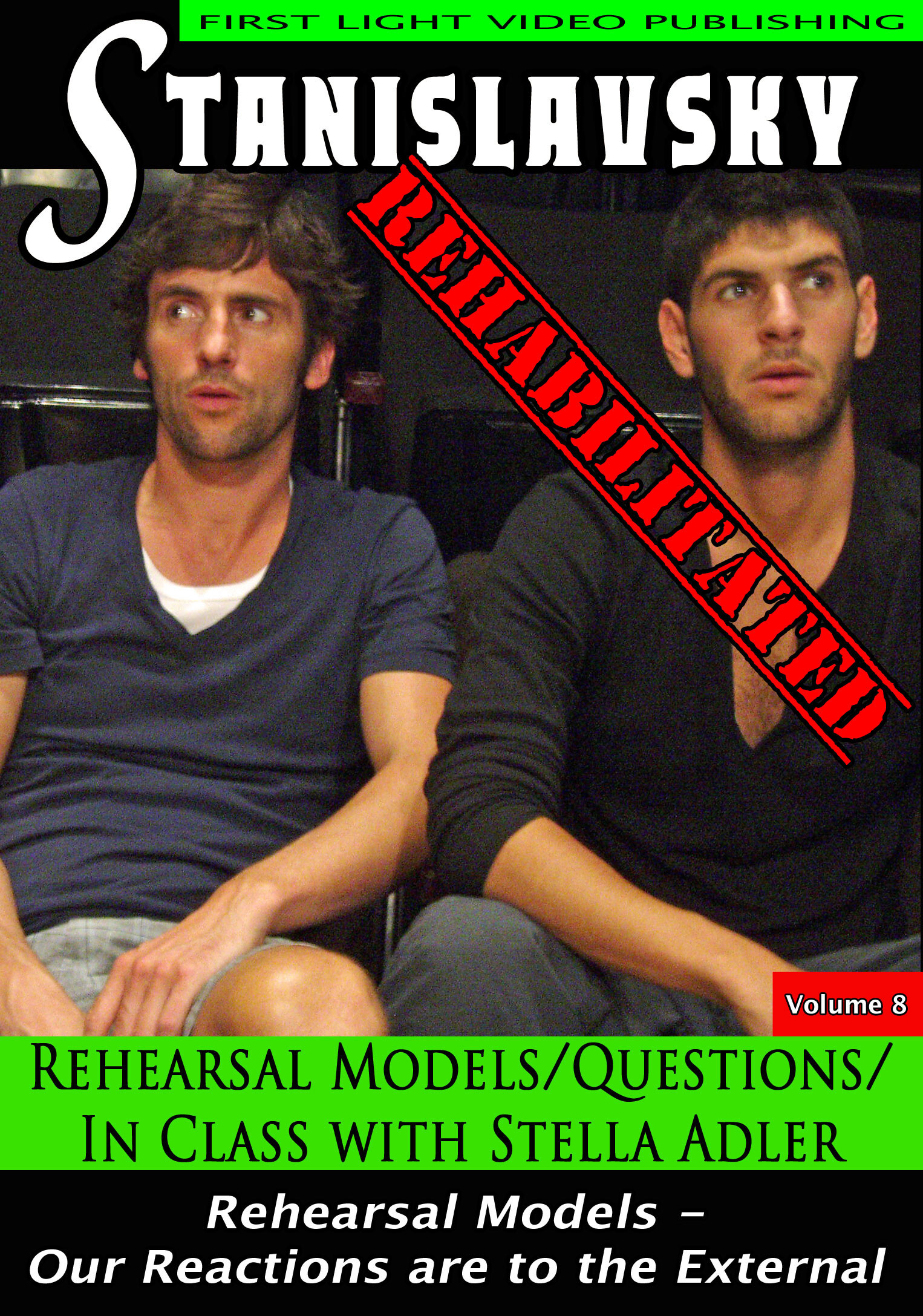 F2696 - Rehearsal Models, Questions and In Class With Stella Adler