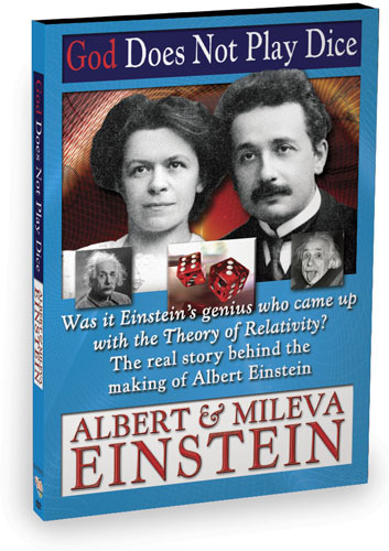K4275 - God Does Not Play Dice Albert & Mileva Einstein