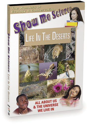 K4483 - Ecology Life In The Deserts