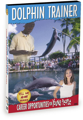K9122 - Tell Me How Career Series Dolphin Trainer