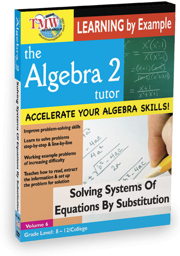 KA8640 - Solving Systems Of Equations By Substitution