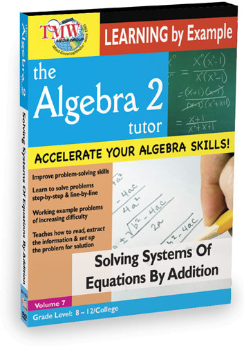 KA8641 - Solving Systems Of Equations By Addition