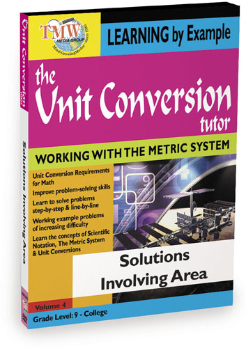 KA8653 - Unit Conversion TutorSolutions Involving Area