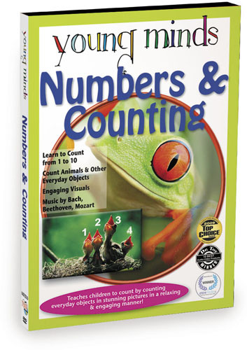 KA8720 - Young Minds Numbers & Counting Math Tutor