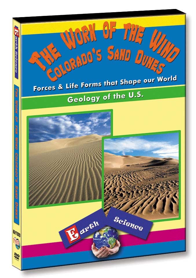 KG1176 - The Work of the Wind Colorado's Sand Dunes