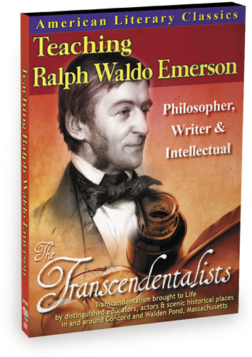 L4815 - American Literary Classics The Transcendentalists Teaching Ralph Waldo Emerson  Philosopher, Writer & Intellectual