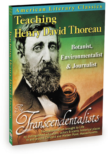 L4816 - American Literary Classics The Transcendentalists Teaching Henry David Thoreau Botanist, Environmentalist & Journalist